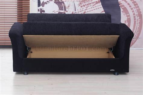 Utah Upholstery by Utah Sofa Bed In Black Fabric By Empire W Optional Loveseat