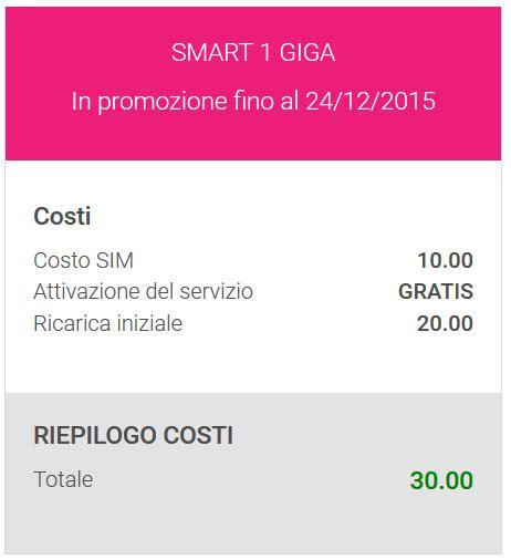 ricaricare tiscali mobile promozione tiscali mobile smart 1 giga 200 minuti ed sms