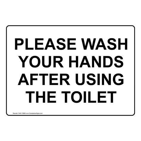 hand washing signs child friendly