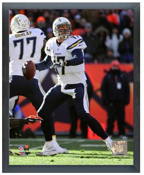 chargers playoffs 2013 phillip rivers chargers 2013 playoffs 11 quot x14 quot photo in a