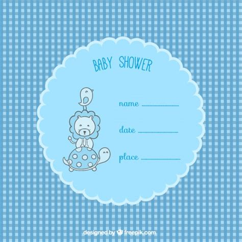 free baby shower card templates baby shower card template vector free