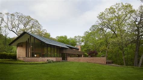 frank lloyd wright usonian house becomes architect s home in lake forest curbed chicago