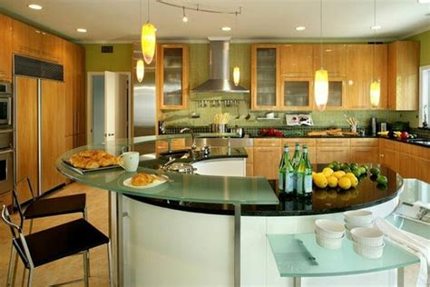 circular kitchen island kitchen idea cheeky island new house