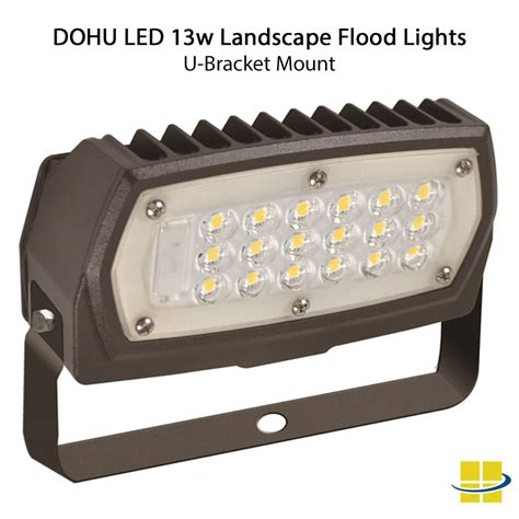 13w landscape flood lights led color mount options