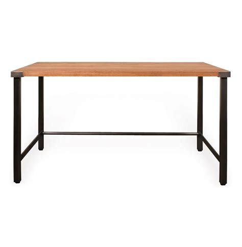 Industrial Modern Desk Gavin Solid Oak Industrial Modern Desk Kathy Kuo Home