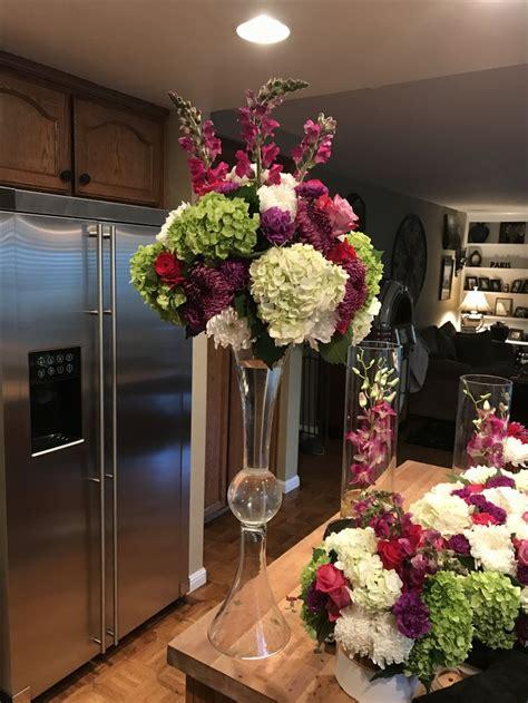 trumpet vase centerpiece best 25 trumpet vase centerpiece ideas on