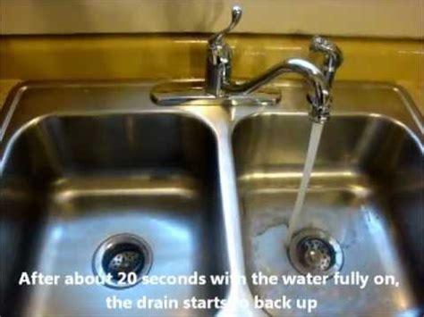 kitchen sink wont drain dasmu us