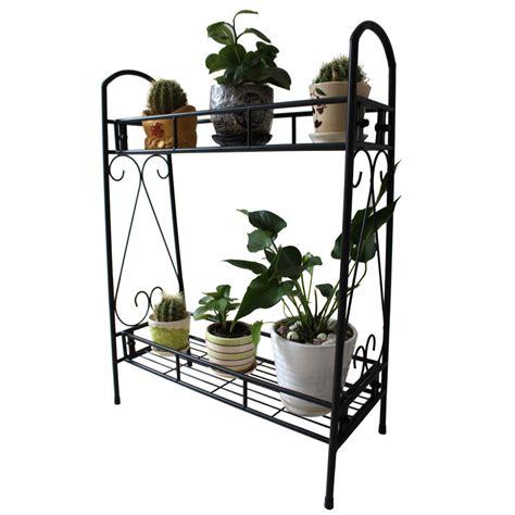 indoor plant shelves 2 tier metal shelves indoor plant stand display flower