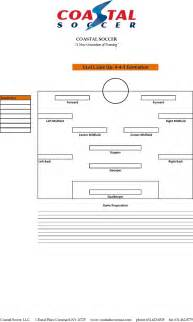 the soccer lineup template can help you make a