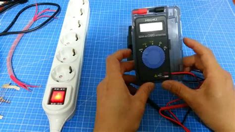 Multitester Digital Hioki 3244 60 전기실무 전기기초 카드 테스터기 사용방법입니다 digital multi tester hioki