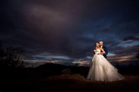Best Scottsdale Wedding Photographer   Sunset Photo   Ben