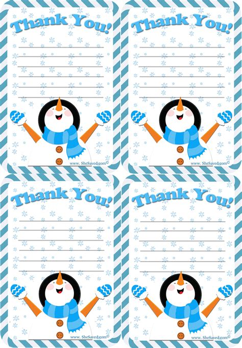 printable thank you holiday cards free free holiday thank you letter printable