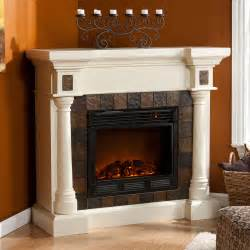 large corner electric fireplace weatherford convertible ivory electric fireplace 37 251
