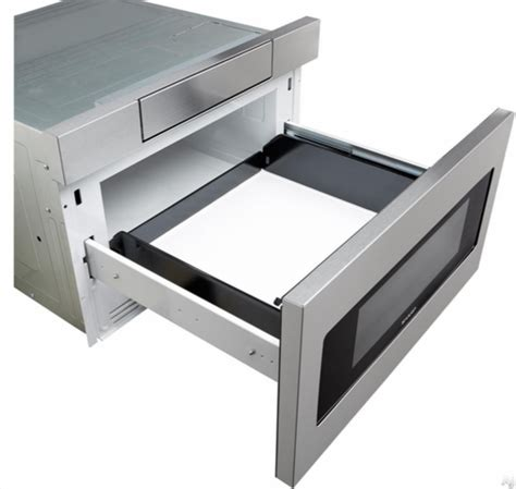 sharp microwave drawer oven smd3070as sharp 30 quot microwave drawer oven with hidden