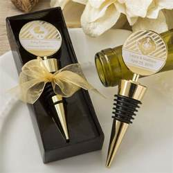 Personalized Wine Stopper Wedding Favors by 30 Personalized Gold Metal Wine Bottle Stopper Gift