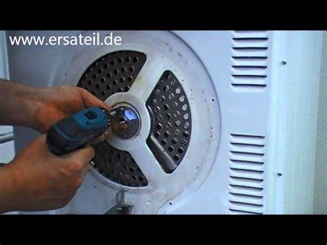 Siemens Waschmaschine Trommel Ausbauen by Trockner Trommellager Wechseln Anleitung