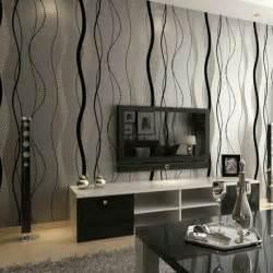 wandtapeten wohnzimmer vliestapeten die frische ins wohnzimmer bringen