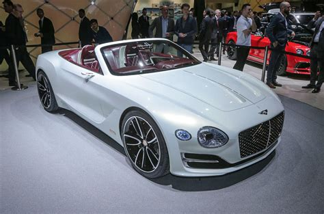 bentley sports car white bentley lifts the lid on electric sports car