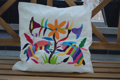 almohadas mexicanas decorative pillows decorative pillows otomi pillows