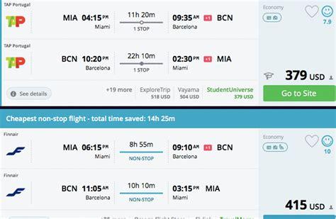find cheap flights  spain  spring     trip