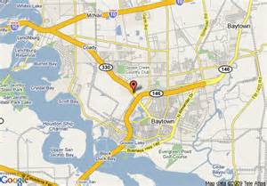 bay town map map of bays inn suites baytown