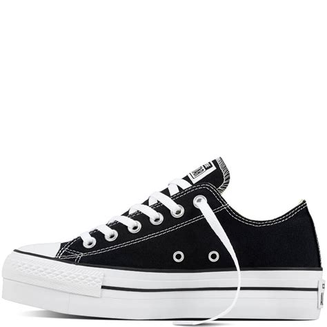 Converse All Low For converse chuck all platform low tops womens