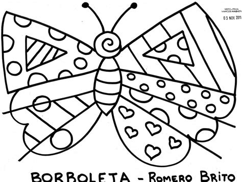 romero britto free romero britto coloring pages