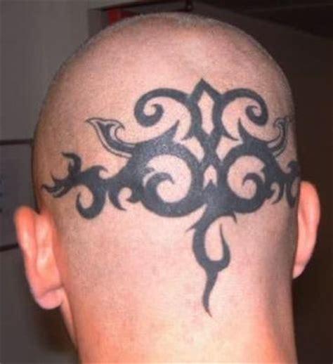 tatouage j 233 r 233 mie janot tatouage tribal sur le crane du