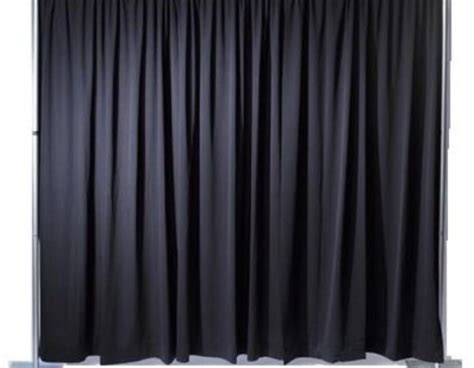 black and white drape coastal virginia event rentals drapes