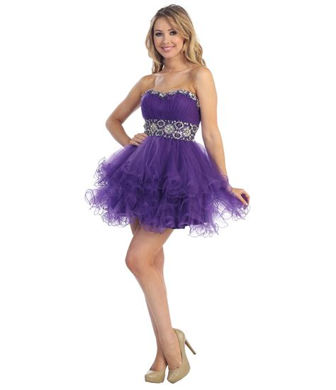 purple cocktail homecoming dresses purple short cocktail dresses
