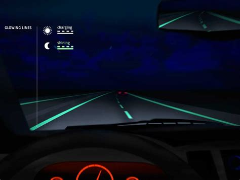 glow in the paint roads netherlands glow in the road business insider