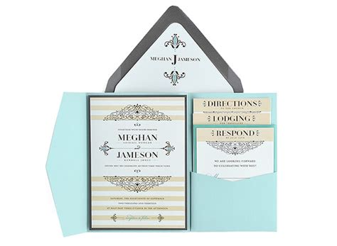 embellished free wedding invitation 5x7 template suite