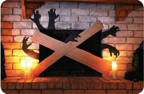 spooky fireplace decoration fireplace decor