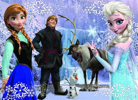 frozen cast wallpaper the frozen cast frozen photo 36936474 fanpop
