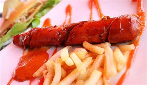 Sosis Bakar Lezat resep sosis panggang saus bbq indonesia recipe kumpulan resep resep makanan
