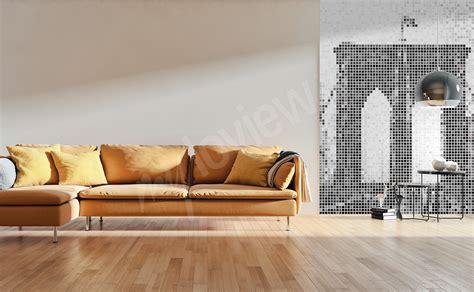 Papier Peint Salon by Papiers Peints Salon Mur Aux Dimensions Myloview Fr