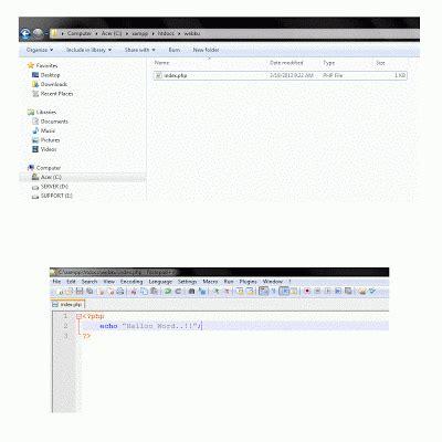 membuat website dengan php untuk pemula belajar membuat website dengan php untuk pemula part1