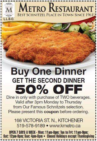 Metro Restaurant Kitchener Coupon metro restaurant kitchener menu prices restaurant