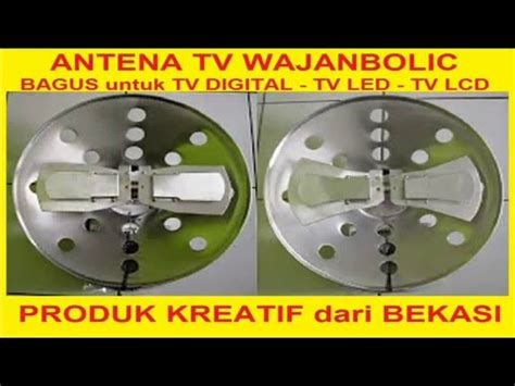 Tutorial Membuat Antena Tv Wajanbolic | full download tutorial membuat antena wajan bolic how to