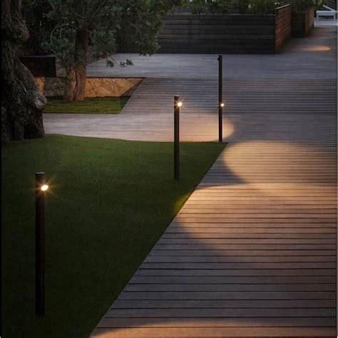 beleuchtung gartenweg aussenleuchten lichtraum