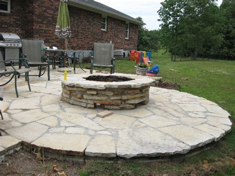 Stone Patio Pictures Stone Hearth Firepit And Fireplace Ideas Gottschalk Quarry