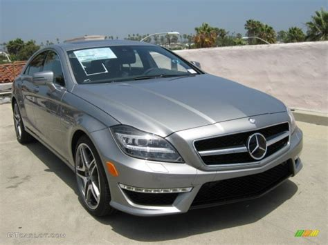 2012 palladium silver metallic mercedes cls 63 amg 52112153 gtcarlot car color
