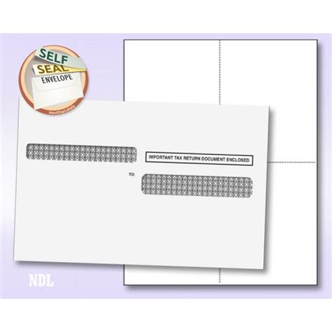 blank printable envelope seals tax forms standard forms