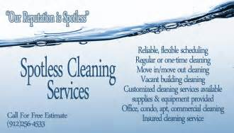 images for cleaning business images by mandy business cards for quot spotless