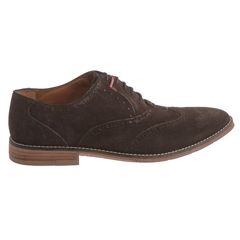 hush puppies suede shoes hush puppies style brogue oxford shoes for save 64