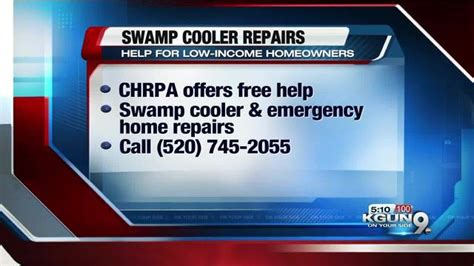 chrpa offering low income homeowners sw cooler help