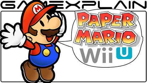 How To Make Paper Mario - paper mario wii u rumor discussion