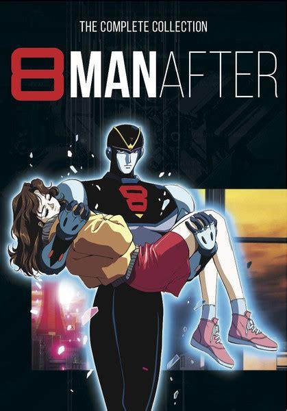 Anime 8man by 8 After Ova Dvd