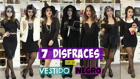 un da negro en 7 disfraces con un vestido negro what the chic youtube