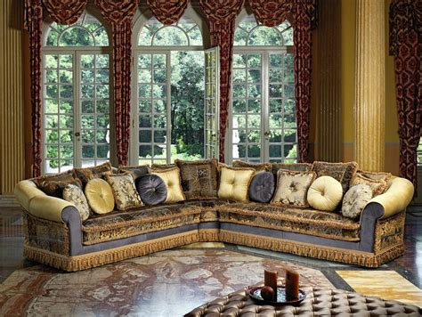 spugne per divani divano angolare in tessuto in stile classico ludovica